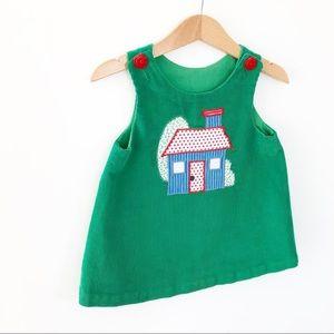 Vintage Handmade Jumper Dress size 12-24 M gvc
